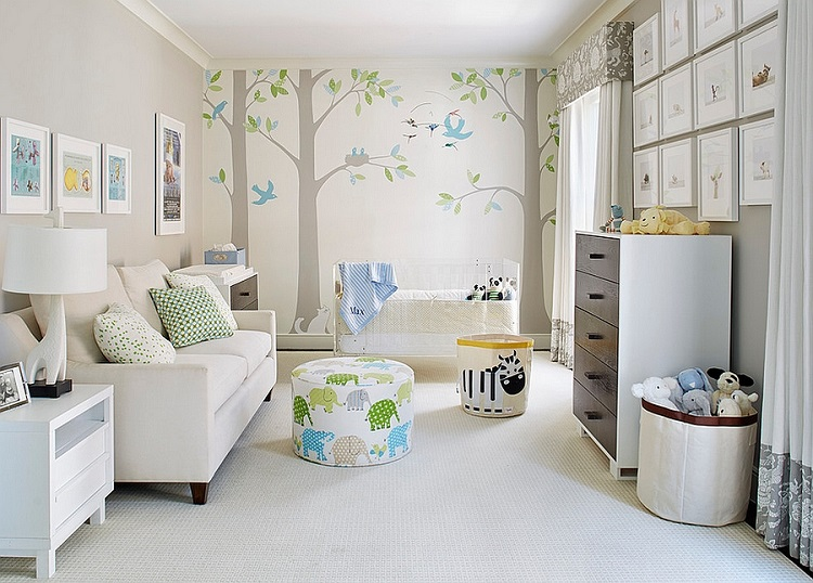 Cute Nursery Design: What You Need To Create A Soothing Space For Your Baby K: Baby Furniture